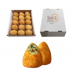Arancine with fried mushrooms - 220 gr (fried and frozen product)  x 15 pcs