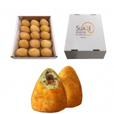 Arancine alla norma fritte - 220 gr (fried and frozen product) x 15  pcs