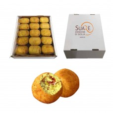 Arancine with speck and fried pistachios - 220 gr (fried and frozen product) x 15  pcs
